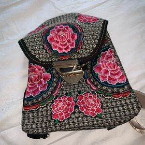 Handbags - Hand made backpack m from Mexican artisans
